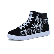 High-top Shoes Fashion Sneakers Mens Vulcanized Low-cut Casual Loafers Student Outdoor Trend Skateboarding Activity