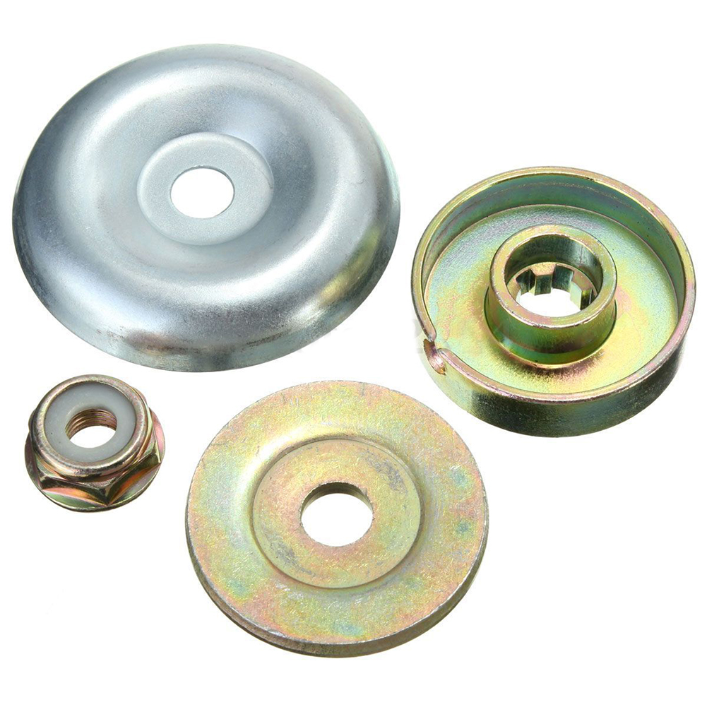 Replacement Metal Gearbox Blade Nut Fixing Kit For Strimmer Brushcutter