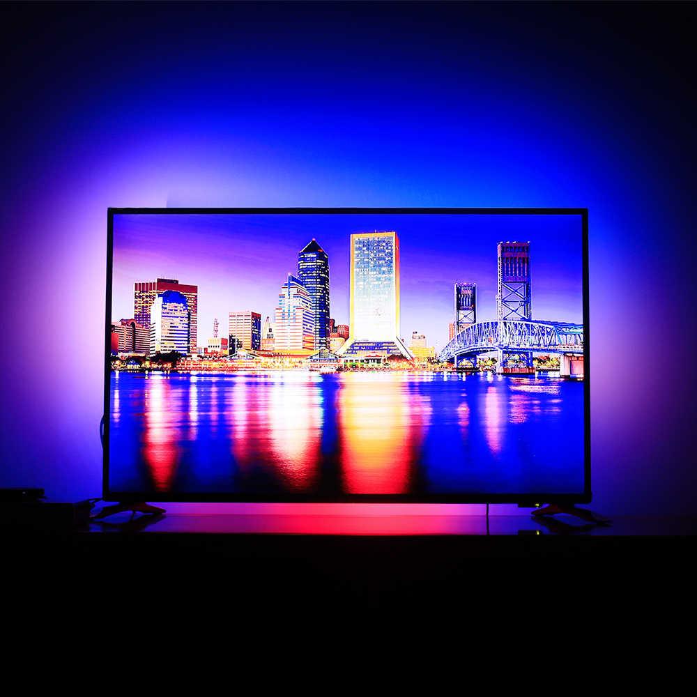 Ambilight HDMI TV kit TV Ambilight wirkung für TV HDMI quellen Dynamische Licht RGB LED Streifen Licht Bildschirm Hintergrundbeleuchtung beleuchtung