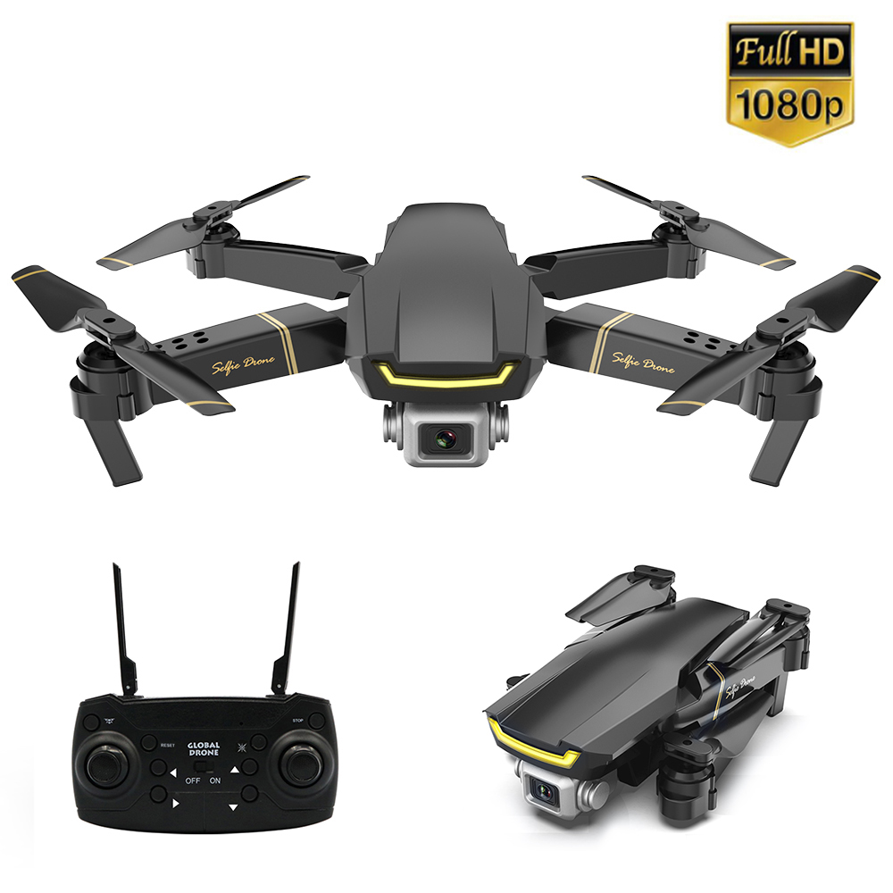 GLOBAL DRONE GW89 RC Drone with Camera 1080P Wifi FPV Gesture Photo Video Altitude Hold Foldable RC Selfie Quadcopter For Kids global drone