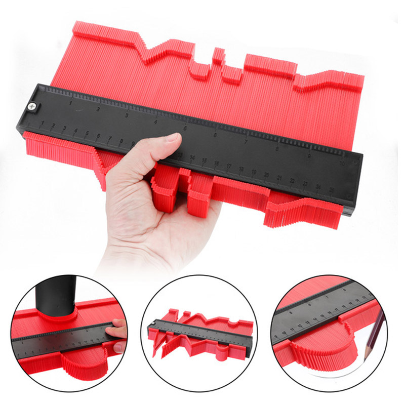 Onnfang Copy Gauge Contour Gauge Duplicator Contour Scale Template Wood Marking Tools Tiling Measuring Ruler Bulk Price