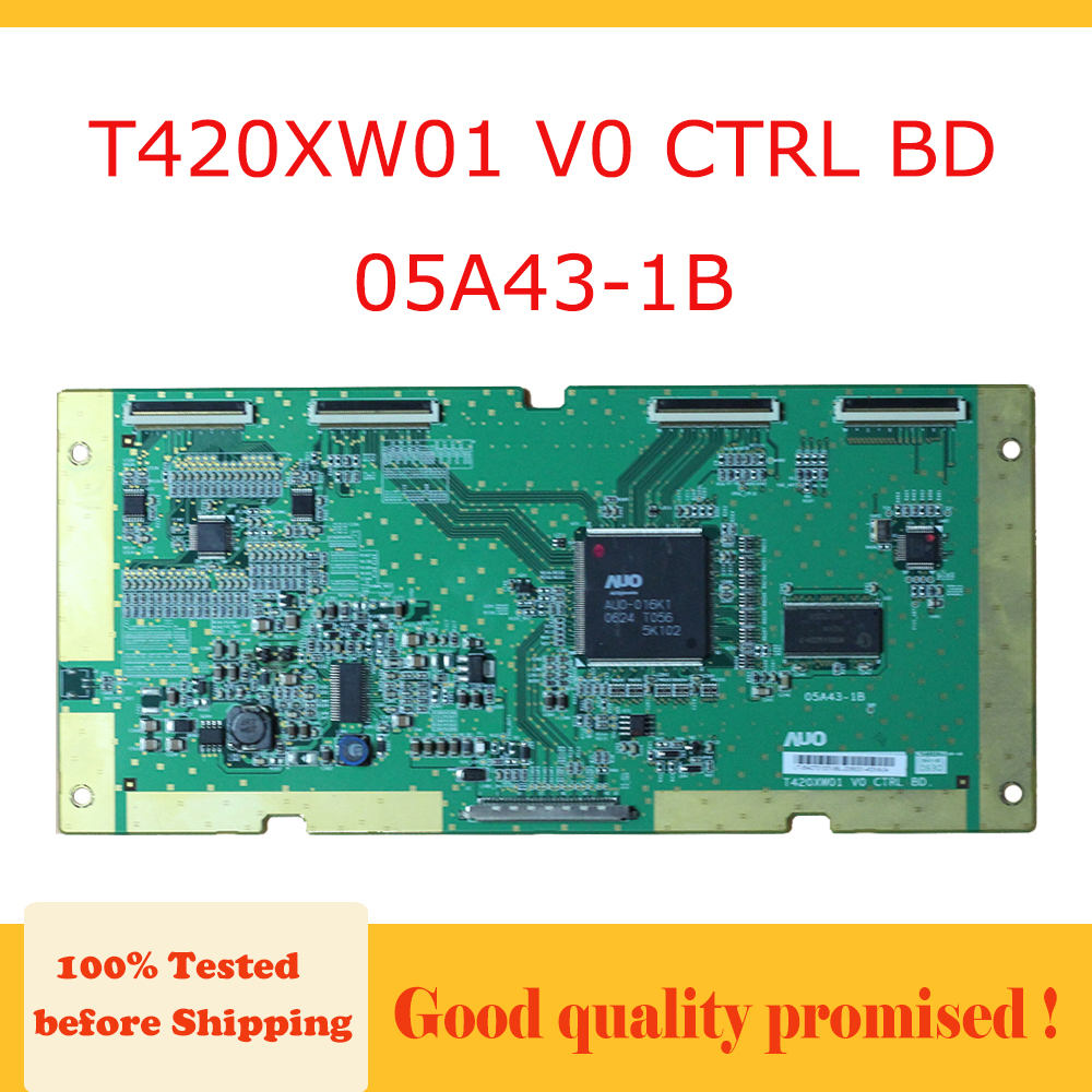 Tcon Board T420xw01 V0 Ctrl Bd 05a43-1b The Circuit Tested The Tv Logic Board Replacement Free Shipping T420xw01 V0 05a43 1b