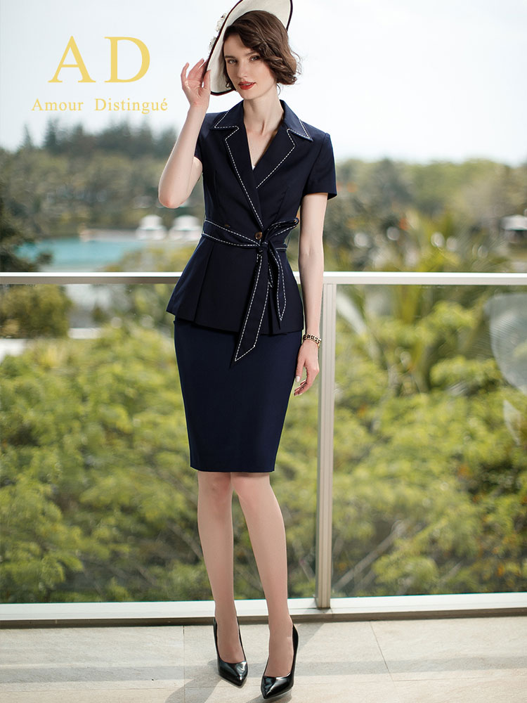 Women S Office Suits Set Professional Female Business Lady Suit Plus Size Black Blazer Pant  Designer Tailor Made 2019 Free Ship