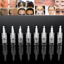 100 sztuk/partia wymiana wkładu bagnetowego Mezoroller dla Derma Pen mikro igły 9 pin / 12 pin / 36 pin / nano Micro Nano igły