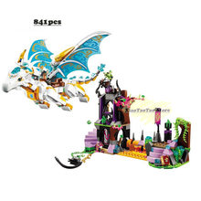 New Elves fairy Long After Rescue dragon girls fit legoings elves fairy friends building blocks bricks diy Toys 41179 gift kids(China)