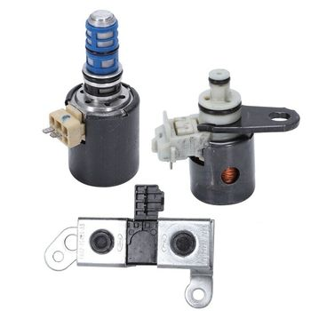 Gearbox Solenoid Valve 4R70W 4R75W for Ford F150 3Pc.Solenoid Set Shift / EPC / TCC 2005-08 New (99129)