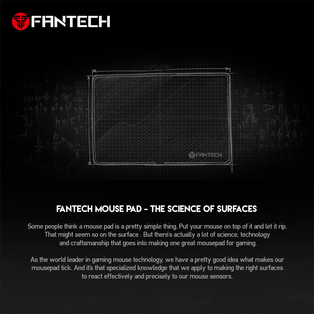 Image 3 - FANTECH MP902 Large Mouse Pad Anti slip Natural Rubber And Smooth Surface With Locking Edge For Mousepad Gamer FPS LOL Mousepad-in Mouse Pads from Computer & Office