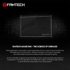 Image 3 - Fantech mp902 grande tapete de rato antiderrapante borracha natural e superfície lisa com borda de bloqueio para mousepad gamer fps lol mousepad