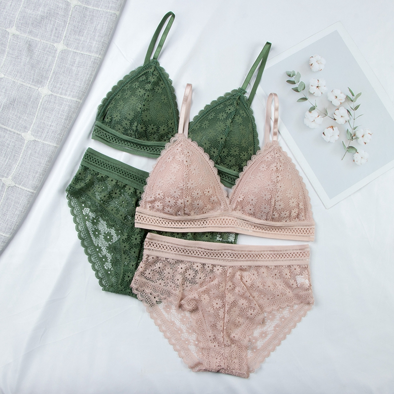 Lace Bra Sets | Seamless Underwear | Sexy Panties Padded | Lingerie Briefs Intimates 5