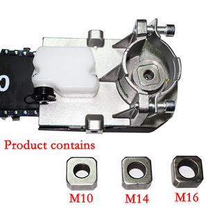 """Image 2 - Quick install 11.5"""" Chainsaw Angle Grinder Accessories Woodworking Cutting Chain Saw Reciprocating Saw Power Tool Attachment"""