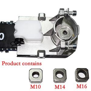 """Image 2 - Szybki montaż 11.5 """"akcesoria do szlifierek kątowych piła łańcuchowa do cięcia drewna piła szablasta elektronarzędzia"""