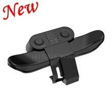 Manette de jeu étendue bouton arrière accessoire Joystick bouton arrière avec adaptateur de clé Turbo pour accessoires de contrôleur de jeu PS4