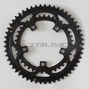 "Image 5 - TRUYOU כביש גלגל BCD 110 53T 39T הכפול דיסק Chainwheel מתקפל אופני Chainring אלומיניום כפול מהירות CNC 3/32"""