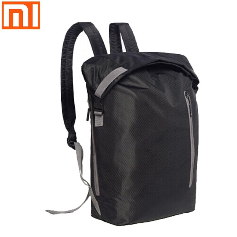 Новинка 2019 оригинальные рюкзаки Xiaomi портативный рюкзак для спорта и отдыха 20L большая емкость 20L микрофибра Повседневная дорожная сумка|backpack 20l|backpacking backpackbag bag | АлиЭкспресс