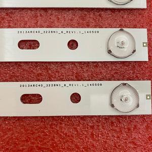 Image 5 - New 5set=40 PCS 5LED 428mm LED Backlight strip for TV 40VLE6520BL SAMSUNG_2013ARC40_3228N1 40 LB M520 40VLE4421BF