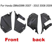 Coperchio del tubo di ingresso del condotto di aspirazione dellaria per Honda CBR600RR 2007   2012 2008 2009 pannello carenatura del tubo dellaria Cowl CBR 600 RR CBR 600RR