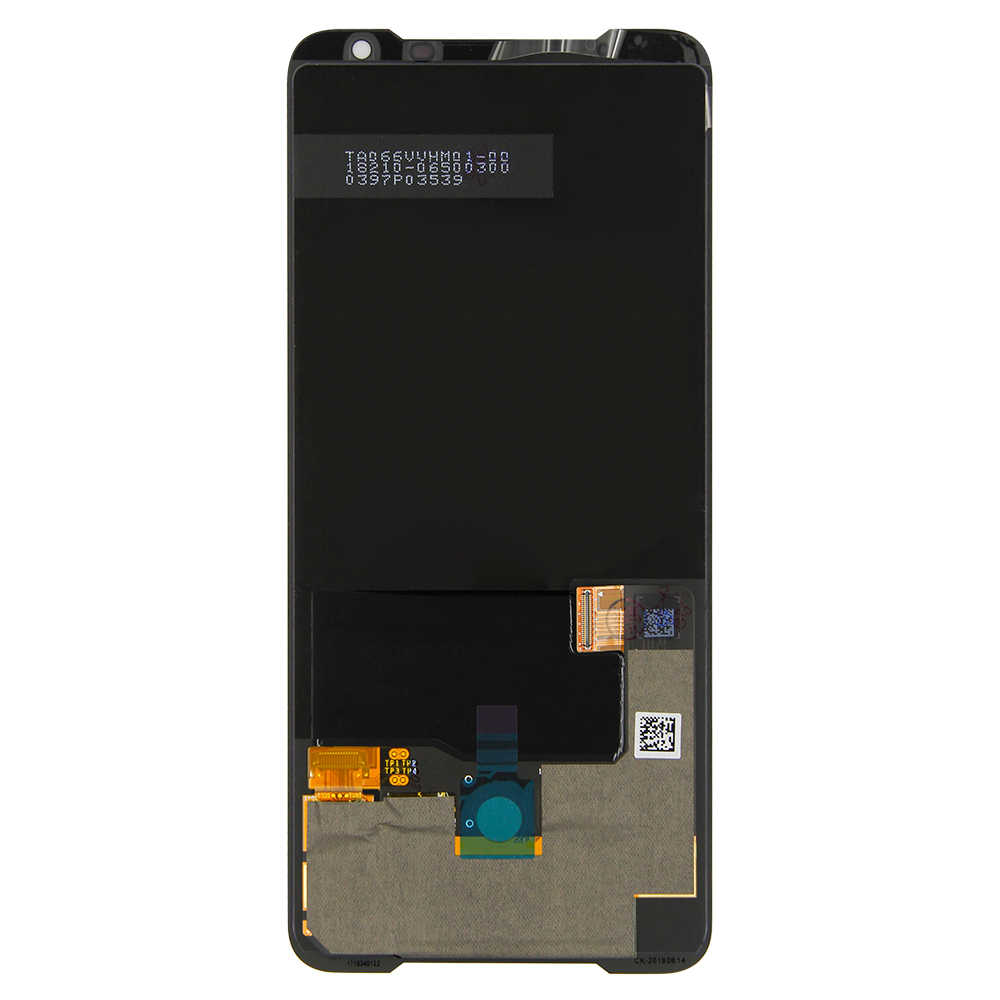"Original 6.59 ""LCD สำหรับ ASUS ROG โทรศัพท์ II 2 ZS660KL จอแสดงผล LCD หน้าจอสัมผัส Digitizer Glass ASSEMBLY + เครื่องมือ"