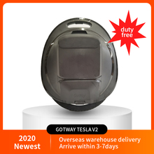 Electric-Unicycle Speaker-Version Gotway Tesla V2 with And Power-Off-Button. 84V/1020WH