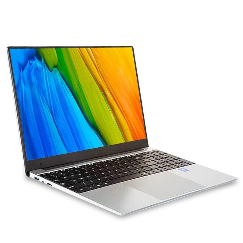 15,6 pulgadas i7 portátiles de juegos con 8G RAM 1TB 512G 256G 128G SSD Ultrabook Win10 ordenador portátil