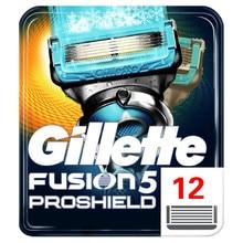 Removable Razor Blades for Men Gillette Fusion ProShield Blade for Shaving 12 Replaceable Cassettes Shaving Fusion Cartridge