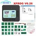 ПРОГРАММАТОР XPROG V6.26 V6.17/V6.12/V5.55/5 84/V5.86  6 12  ECU  металлический корпус  инструмент для программирования EEPROM  обновленная версия  для обновленной м...