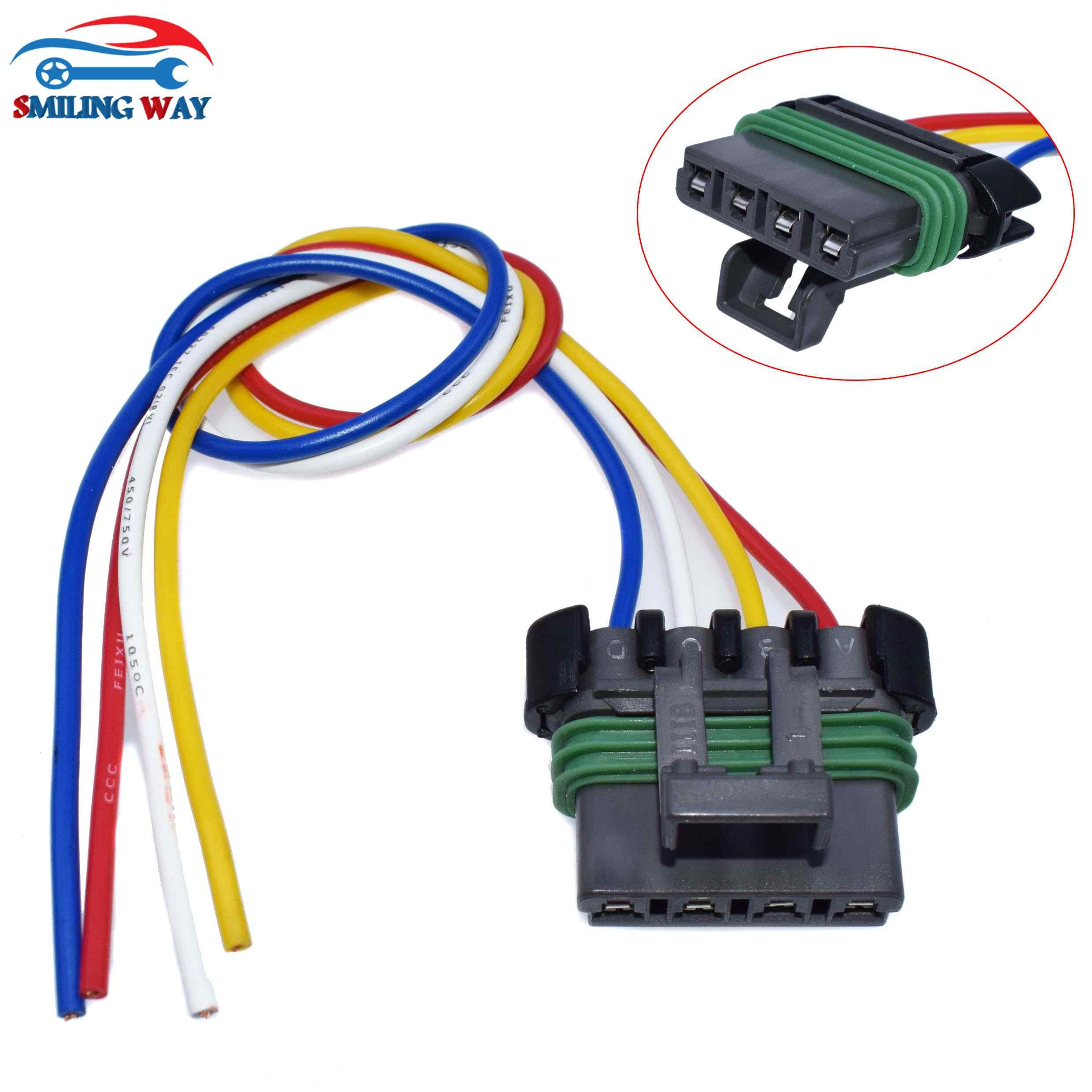 HVAC Blower Motor Resistor Wiring Harness Connector Pigtail Cable Plug For  Chevrolet GMC Buick Pontiac Saturn Cadillac Isuzu| | - AliExpressAliExpress