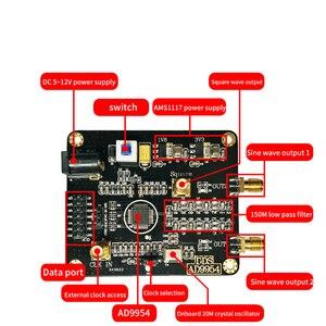 Image 5 - Module de générateur de signal DDS AD9954, module de générateur de signal RF à onde sinusoïdale carrée, source de signal RF 400M, développement de fréquence
