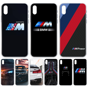 Sports car BMW Phone Case cover For iphone 4 4S 5 5C 5S 6 6S PLUS 7 8 X XR XS 11 PRO SE 2020 MAX transparent shell trend image