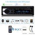 Bluetooth Авторадио Стерео радио FM Aux вход приемник SD USB JSD-520 12В In-dash 1 din MP3 мультимедийный плеер