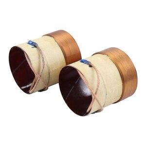Image 3 - Шуруповерт из стекловолоконного материала, 4 слойная катушка из круглой медной проволоки, 38,5 мм, 8 Ом, басовая звуковая катушка, 2 шт.