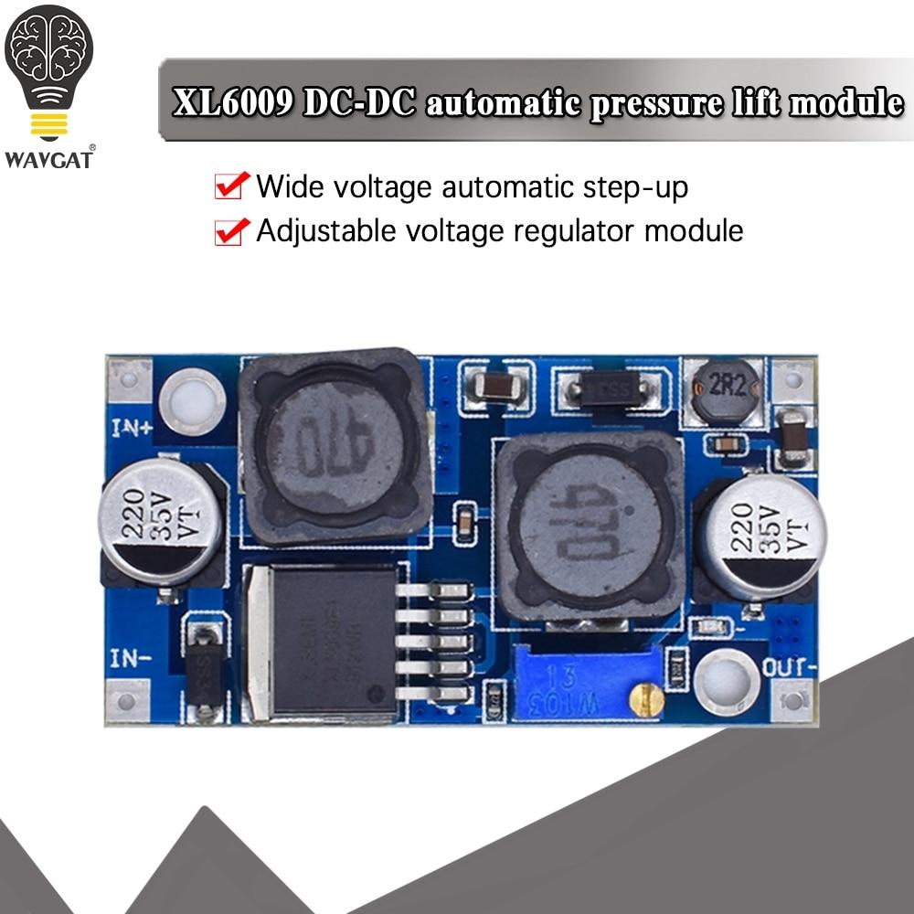 Повышающий потенциальный Регулируемый понижающий преобразователь XL6009, модуль солнечного напряжения