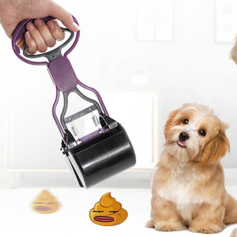 Lightweight And Convenient Pet Dog Pooper Scoop Shovel Cleaning Pick Up Animal Feces Cat Feces Picker Outdoor Cleaning Tool
