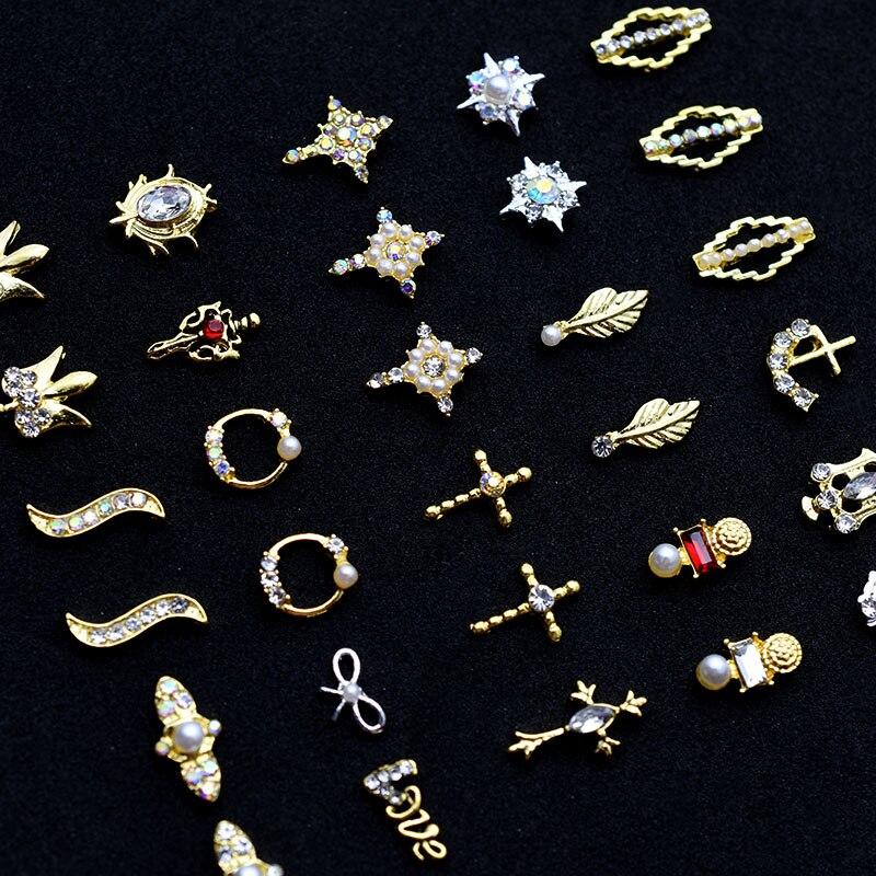 Купить 2020 10 шт золотые 3d драгоценные камни подвески кристаллы яркие