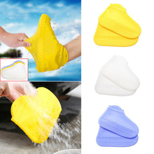 Reusable Shoe Cover For Rain Waterproof Covers Proof Silicone Protectors Wear-Resistant Non-slip