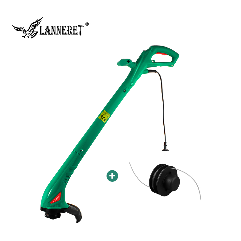 LANNERET 250W 220mm AC Electric Grass Trimmer Hand Cleaner Grass Cutter Machine Line Trimmer For Brake Disassembly Garden Tools