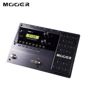 Image 4 - Mooer GE150ギターペダルマルチエフェクトプロセッサ (80s) デジタルチューブアンプ9エフェクトタイプ55アンプ · モデルotg機能