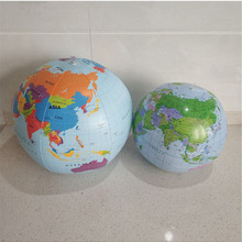 Ball Geography World-Earth-Ocean Inflatable Globe Educational Kids Map 16inch
