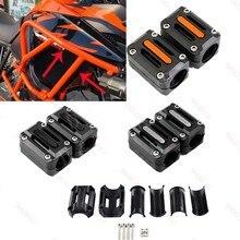 Pour KTM 1050 1090 adv 1190 1290 Super aventure R/S/T 22mm 25mm 28mm moto moteur garde pare-chocs Protection bloc décoratif