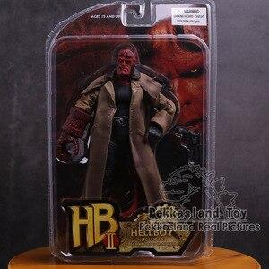 Экшн-фигурка из ПВХ MEZCO Hellboy, Коллекционная модель игрушки