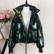 여성용 다운 자켓 겨울 2019 의류 두꺼운 따뜻한 퍼퍼 코트 여성용 대형 플러스 사이즈 파카 겉옷 5xl