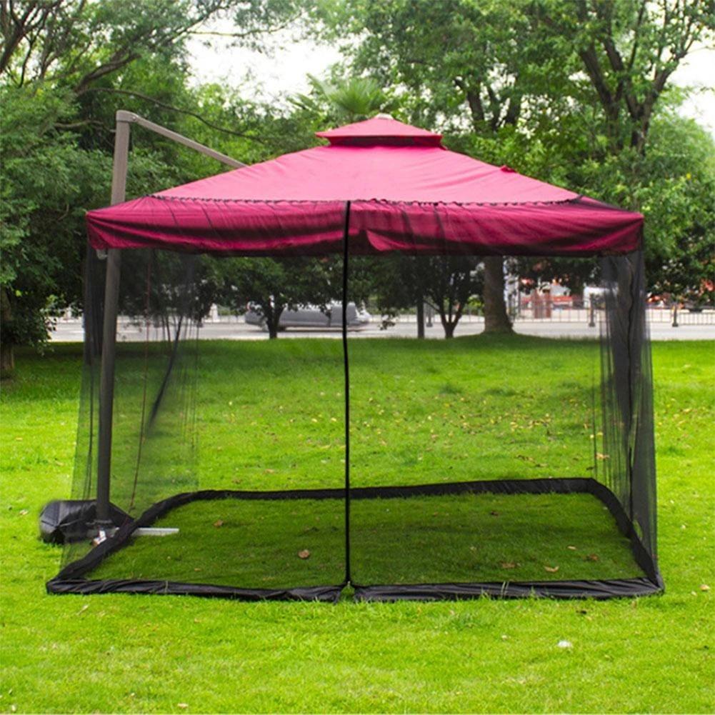 outdoor mosquito net patio umbrella mosquito netting screen uv resistant gazebo style mosquito netting for yard camping