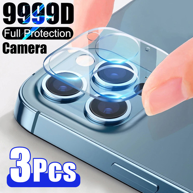 3PCS Camera Len Glass for iPhone 11 X XR 6 6S Plus SE Screen Protector for iPhone 12 Pro 7 8 XS Max 11 Pro Mini Protective Glass 1