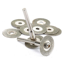 100% brand New 25 Metal Wheel Discs 5pcs Mandrel Bars For Rotary Tool Accessory Diamond Cutting