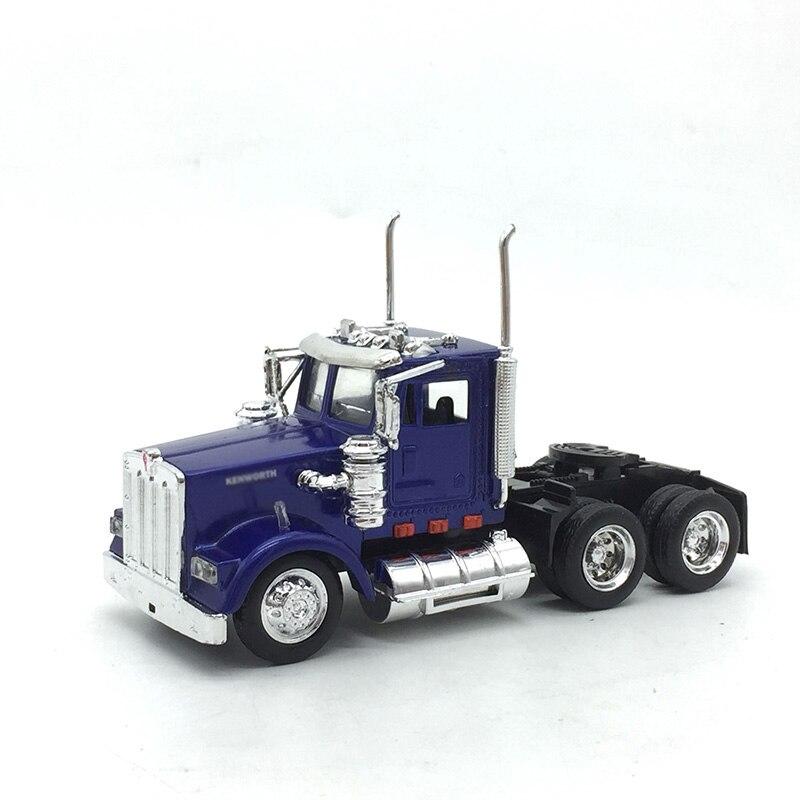 1/43 skala klasyczna amerykańska przyczepa do ciągnika Super kontener ciężarowy pojazdy akcesoria do samochodów ciężarowych Model odlewu Speelgoed Jongens