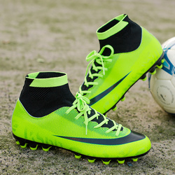 Newest Football Boots For Men Soccer Shoes FG Kids Superfly Original  High Ankle Soccer Cleats Chuteira Futebol Wholesale 07