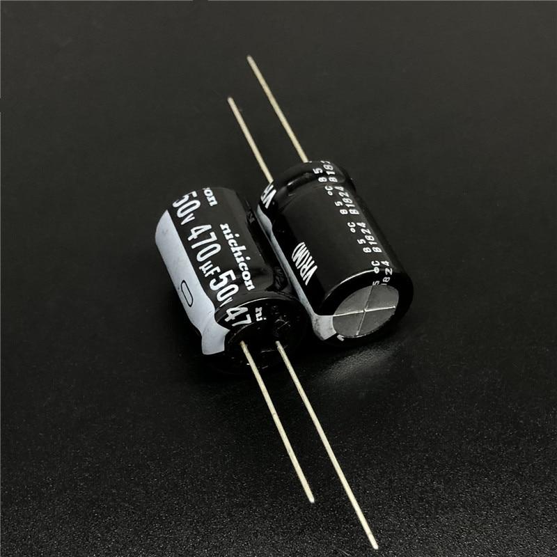 10//100pcs 470uF 50V Nichicon HE 12.5x20 50V470uF Super Low Impedance Capacitor