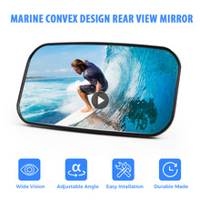 KEMIMOTO Universal Boat Ski Rear View Mirror for Jet Ski Watersport Personal Watercraft Mirror For Yamaha Sea Doo For Kawasaki