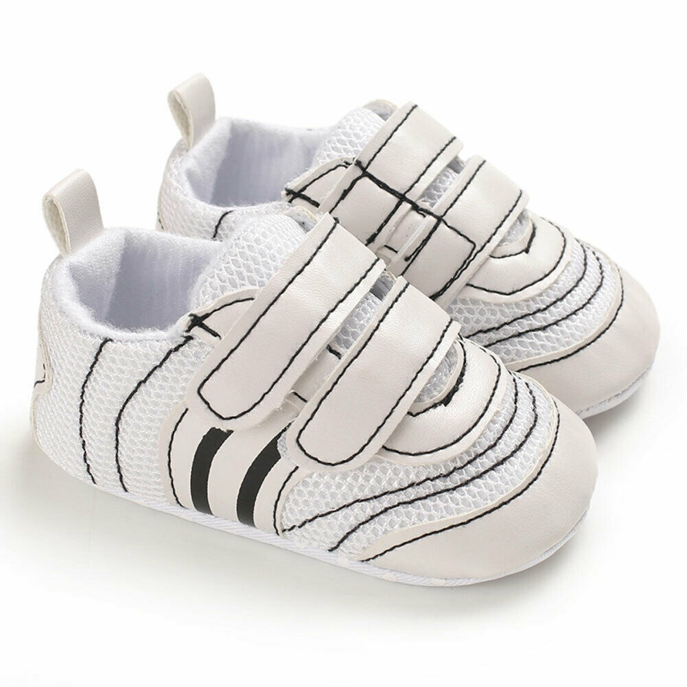 Toddler Crib Baby Boys Shoes First Walker High Top Sneakers No-slip Ankle Soft Soles Leather Shoes 0-6Months 6-12Months 12-18M