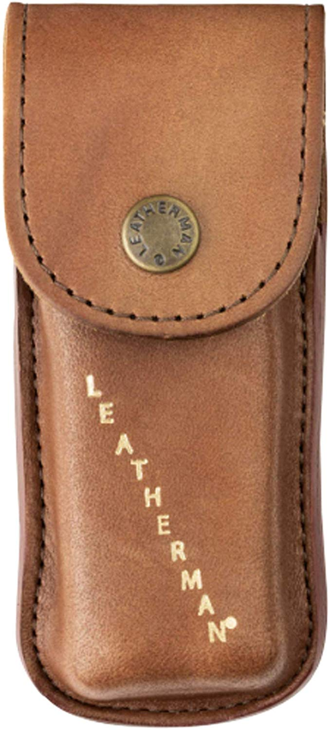 LEATHERMAN - Heritage Leather Snap Sheath For Multitools, XS/S/M/L Size For Any Types