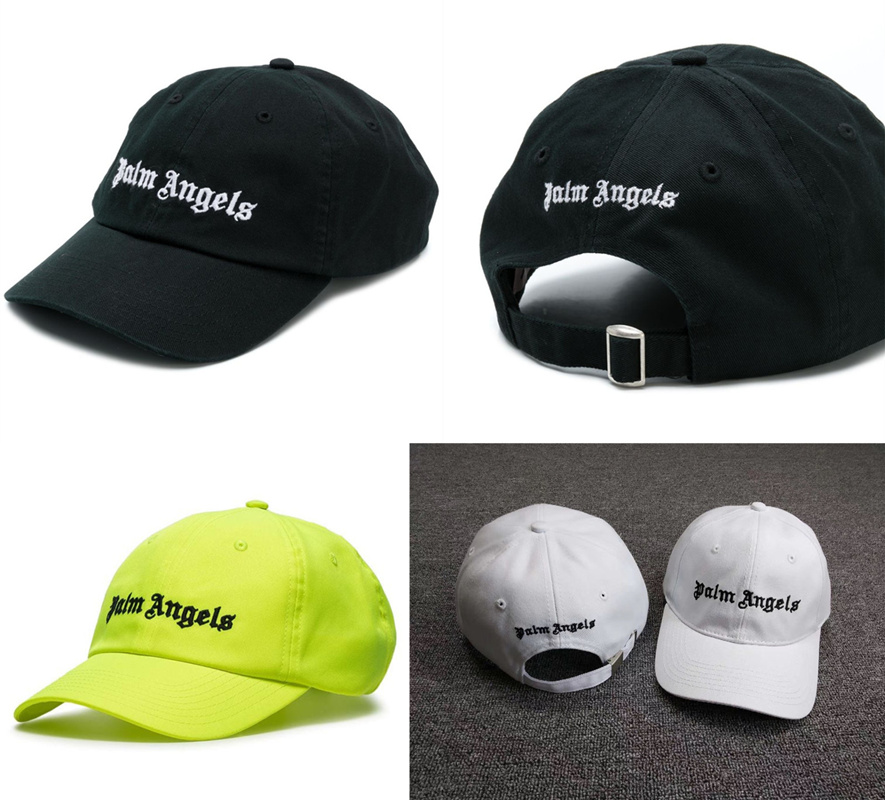 2019 palm angels   cap   for men and women hiphop Embroidery Street palm angels   baseball     caps   Adjustable fashion cotton hats dad has